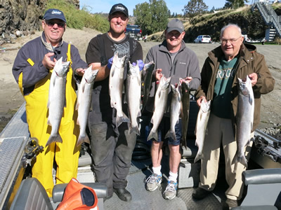 Columbia River Salmon Fishing