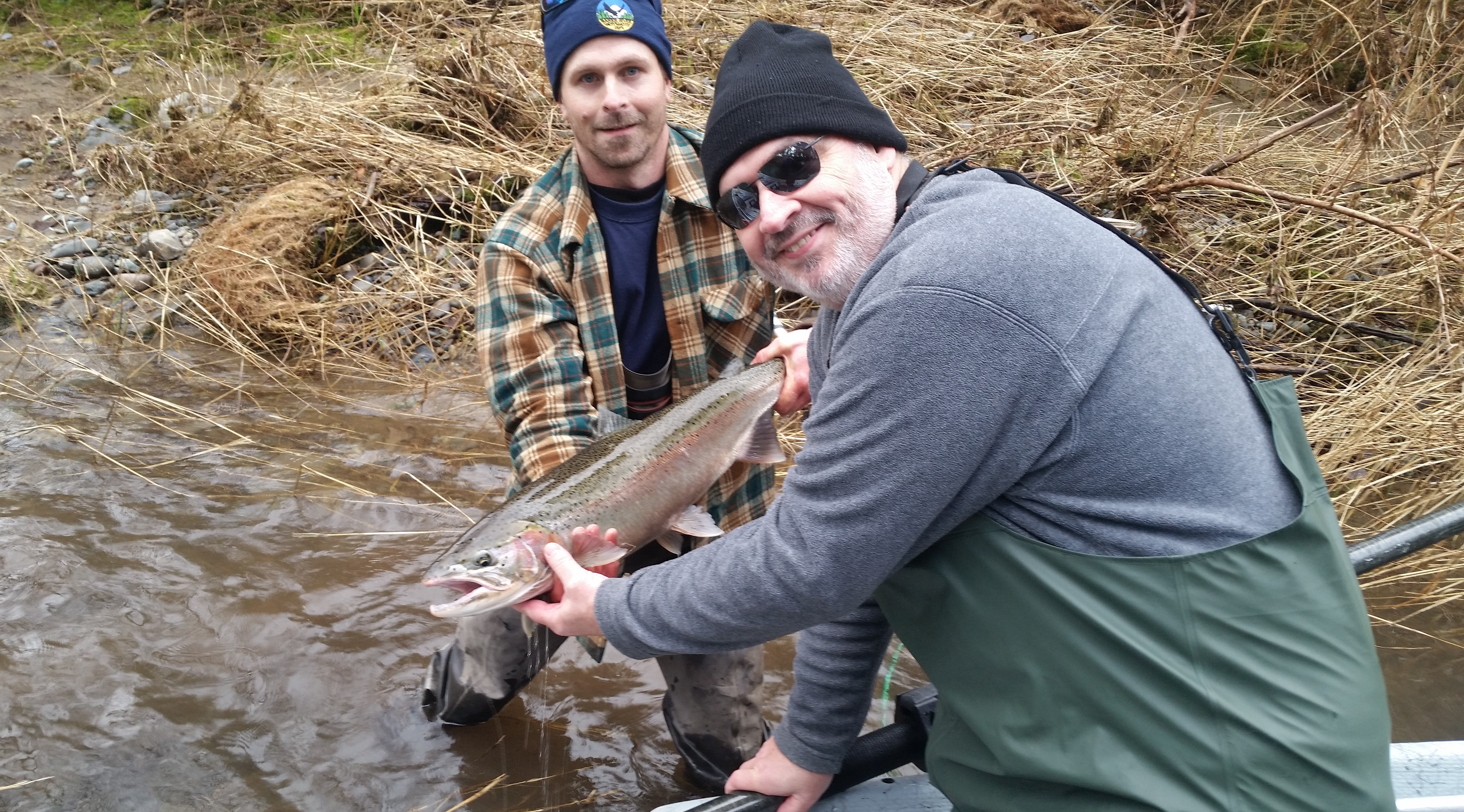 Jan 24 2016 steelhead fishing report sts guide for Trask river fishing report