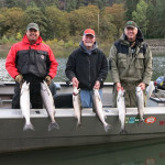 Klickitat Coho Salmon Fishing