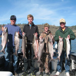 Klickitat River Salmon Fishing