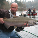 North Fork Lewis River Fishing