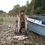 North Fork Lewis River Salmon Fishing