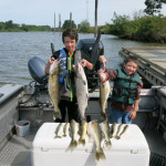 Columbia River Walleye Fishing
