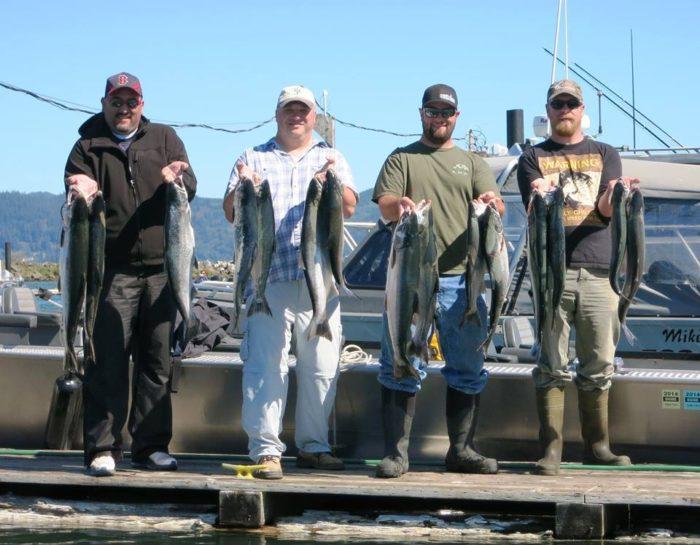 2015 Astoria Salmon Fishing Columbia River