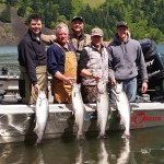 Drano Lake Salmon Fishing