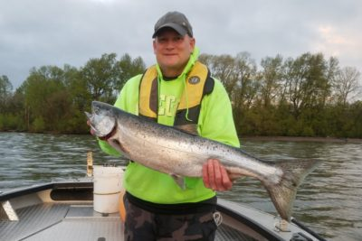 Columbia River Water Conditions Makes Tough Start For Spring Chinook Salmon Fishing Season