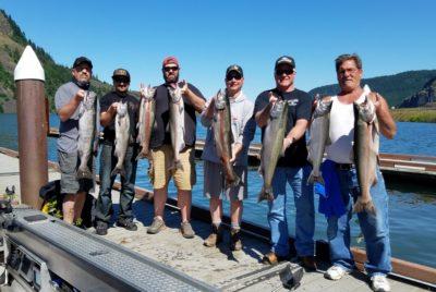 Drano Lake Guided Spring Chinook Salmon Fishing