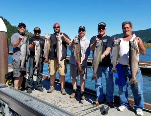 Spring Chinook fishing trips near Portland Oregon