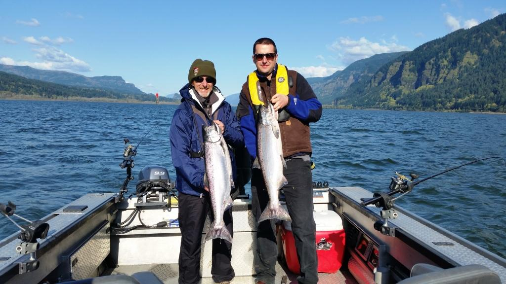 Columbia River Spring Chinook Salmon Fishing Guide